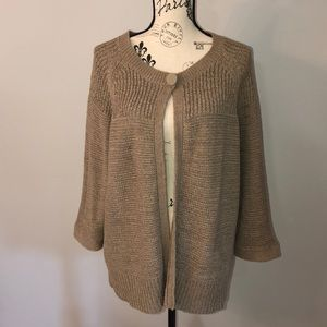 AUGUST SILK WOMAN 3/4 Sleeve Cardigan sz 2X